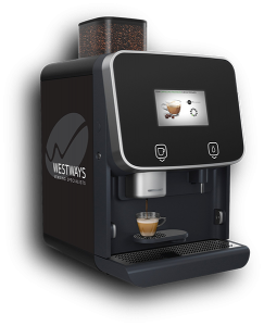 Bean to Cup Coffee Machine with Media Screen
