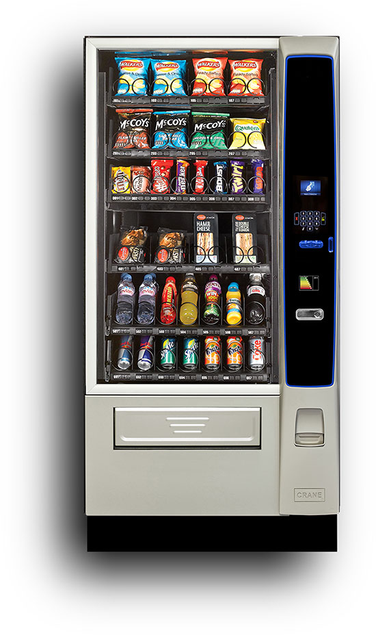 Combination Cold Drinks and Snack Machine