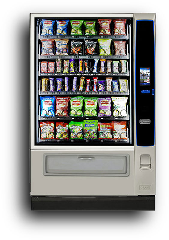 Large Ambient Snack Machine Rental